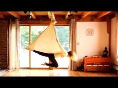 aerial silk hammock aerial yoga - #aerialyoga #aerial #kamafitness