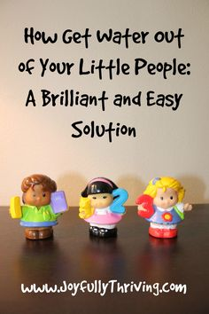 How to Get Water out of Your Little People A Brilliant and Easy Solution - Joyfully Thriving