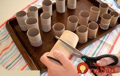 Ak sa chystáte na vianočný stôl kupovať nové prestieranie, máme pre vás skvelý tip od šikovnej mamičky, ktorá vám ukáže, ako ho vyrobiť len z prázdnych roliek od kuchynských papierových utierok.