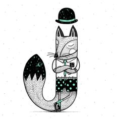 J is for Jackal! Art Print by Alejandro Giraldo | Society6