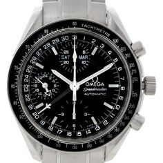 Omega Speedmaster Day Date Mens Automatic Watch 3520.50.00