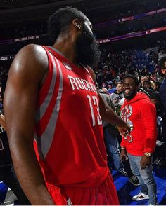 "That moment when @jharden13 said ""that 50 ball was because you ke"
