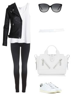 """""""Untitled"""" by picasso2011 ❤ liked on Polyvore featuring Mother, H&M, adidas, MICHAEL Michael Kors, Zara and Kenzo"""