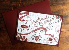 Stephanie & Gerry | Wald und Schwert www.waldundschwert.com #stationary #wedding #invitation #handwriting #typography #fox #beave Paper Goods, Handwriting, Stationary, Wedding Invitations, Fox, Typography, Paper, Woodland Forest, Penmanship