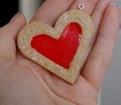 Collana biscotto cuore