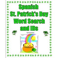 Spanish St. Patrick's Day Bundle - Practice, Listening and ...