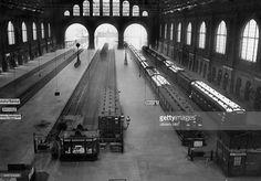 ca 1910 Berlin Anhlaterbahnhof Innenansicht