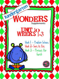 If you are already using or you are new to the Wonders Reading Program, this 109 page resource packet is for you. You'll have help with word work center printables, anchor charts, writing activities, high frequency word practice, an abundance of letter sound activities, and much, much more.Check the table of contents below and our preview to see exactly what is included in the packet.