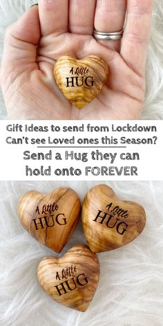 Not able to see a loved one during lockdown 2020. Send them a little hug they can carry in their pocket forever. Gift ideas from Lockdown. Gift ideas for those you cannot visit. Gifts for faraway family. Christmas Gift ideas 2020. Ideas for things to send to those you cannot see in 2020. Chrisyams Gift Guide 2020. #christmas #gifts #giftideas #christmas2020 #hugs #love #lovedones Handmade Wedding Gifts, Handmade Christmas Gifts, Christmas Gift Guide, Family Christmas, Handmade Gifts, Fun Secret Santa Ideas, Secret Santa Gifts, Christmas Gifts For Boyfriend, Boyfriend Gifts