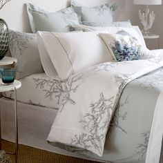 Image 3 of the product Coral Print Reversible Percale Cotton Duvet Cover Cotton Bedding, Linen Bedding, Bed Linens, Holly Willoughby Bedding, Where To Buy Bedding, Linen Bedroom, Master Bedroom, Coral Print, Linen Rentals