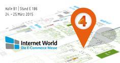 48 ecommerce-intensive Stunden in München: Wir freuen uns auf Euren Besuch mitten in der Halle B1 auf der Internet World Messe!