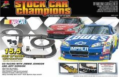 Slot Car Vehicle Race Sets - Life Like Stock Car Champions Electric Race Set  NASCAR * Find out more about the great product at the image link.