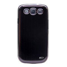 KaysCase Blade Aluminum Back Cover Case for Samsung Galaxy S3 SIII i9300 with Screen Protectors, Retail Packaging -Black by KaysCase, http://www.amazon.com/dp/B008BI4FVI/ref=cm_sw_r_pi_dp_cgOVrb1N3QAYS
