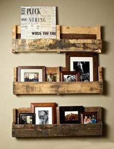 Making shelves and storage racks is a great DIY idea which allows to reuse and recycle salvaged wood pallets, create unique and convenient storage spaces for decorating your home in eco style and save money on buying new home furnishings. Lushome shares a collection of simple and interesting DIY pro