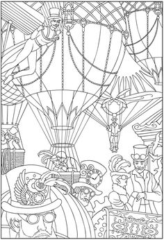 Welcome to Dover Publications Steampunk 2