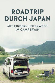 Mit dem Campervan durch Japan. Geht das? Ja, das geht... #roadtrip #reisenmitkindern #japan #campervan