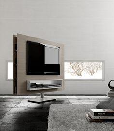 Next Swivelling TV Unit swivel tv stand room divider Pinterest