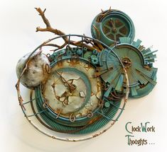 steampunk  ClockWork Thoughts