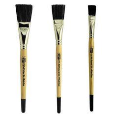Paint Brush Set 3Pc Maison Professionnel décoration peinture peintres À faire soi-même Nylon