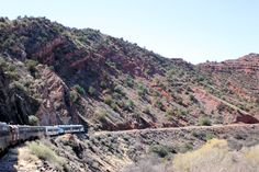Verde Canyon Railroad Tour - See the Red Rock of Northern AZ during a 1st class old-fashioned train ride