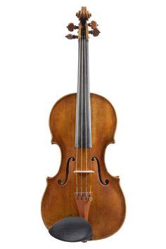A Fine Italian Violin by Carlo Tononi, Venice 1733 Length of back: 14ins, 356mm