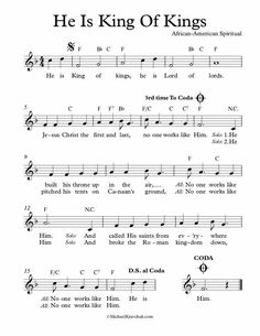 Free Sheet Music, Piano Sheet Music, Bear Songs, Song Lyrics And Chords, He Is Lord, Worship Jesus, Lead Sheet, Speak Life, King Of Kings