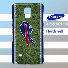Buffalo Bills on Grass Samsung Galaxy Note 4 Case Cover Hardshell