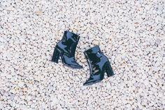 Miti Shoes Inverno 16. [ankle boots, bota em couro preta.] #mitishoes #amsterdamstyle