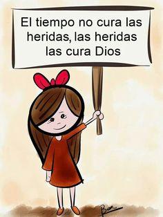 Dios conmigo.