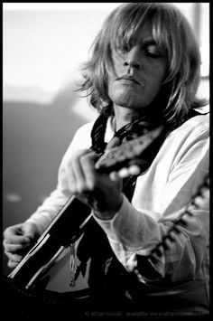 The Rolling Stones: Brian Jones in rehearsal, by Ethan Russell The Rolling Stones, Brian Jones Rolling Stones, Keith Richards, Jim Morrison, Mick Jagger, Jimi Hendrix, Club 27, El Rock And Roll, Best Guitar Players