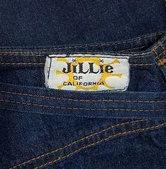 Rare Vintage 1970s Jillie High Rise Straight Leg Zipper Front Belted Jeans Denim, Dark Denim, Skinny Jeans, Tall, High Waist, XS Small by DateNiteDigs on Etsy