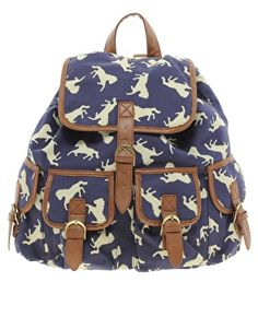 Enlarge ASOS Horse Print Backpack