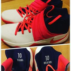 the best attitude 52e6e 0060c 2016-2017 Sale Kyrie Irving 2 II USA Navy Red New Arrival 2016