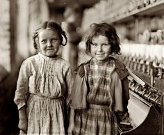 It's About Time: Women & children in the workplace in early 1900s America by Photographer Lewis Wickes Hine 1874-1940