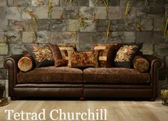 Image Result For Leather And Fabric Sofa Tetrad