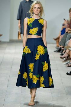 I wish it was one piece. Michael Kors Spring 2015