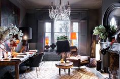 Leap in the dark: Bright and breezy was never going to do it for the designer Abigail Ahern: