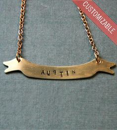 Custom+Stamped+Brass+Banner+Necklace+by+Larissa+Loden+on+Scoutmob+Shoppe