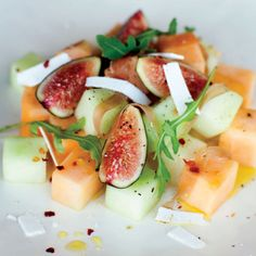 summer-melon-with-fig-and-porsciutto Recipe