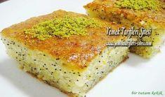 Limonlu Haşhaşlı Revani Tarifi