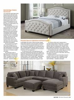 The Costco Connection magazine builds community among Costco members by combining information about what's new at Costco with a mix of lifestyle and small business articles. Costco Furniture, Etagere Bookcase, Business Articles, Community Building, Master Bedroom, Couch, Equation, Einstein, Connection
