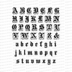 Edwardian Ornamental Penwork Installable Font Vintage | Etsy Cursive Letters, Uppercase And Lowercase Letters, Heart With Arrow, Vintage Heart, Antique Books, Lower Case Letters, As You Like, Etsy Vintage, Alphabet