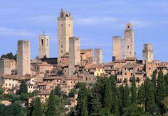 San Gimignano: ijs en koekjes in het Manhattan van Toscane