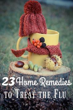 Winter is coming and flu season too! These 23 tried and true home remedies for…