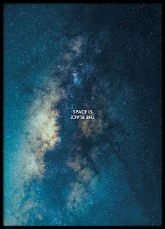 Space is the Place Poster in the group Prints / Nature at Desenio AB Buy Posters Online, Online Art, Poster 40x50, Gold Poster, Nature Posters, Space Posters, Astronauts In Space, Autumn Nature, Jolie Photo