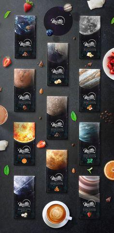 DesignerPeople Branding Agency on Behance - Innovative Chocolate Packaging Design - Dessert Packaging, Food Packaging Design, Coffee Packaging, Black Packaging, Packaging Ideas, Packaging Design Inspiration, Logo Inspiration, Chocolate Brands, Chocolate Snacks
