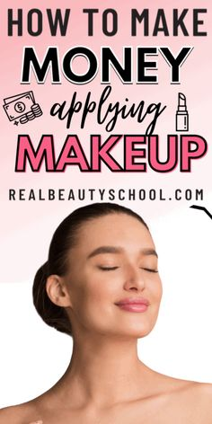 Makeup Artist Career, Becoming A Makeup Artist, Applying Makeup, How To Apply Makeup, Makeup Certification, Online Makeup Courses, Professional Makeup Tips, How To Make Money, How To Become