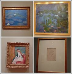 April's Homemaking: Our Visit to the Portland Art Museum - Monet, Raphael, Renoir