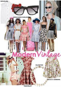 How To Wear- Modern Vintage. Words by Rosie Feenstra. www.kit-magazine.com