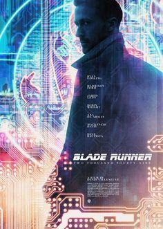'Blade Runner 2049' fan art by Michael Friebe (Raborlatte).
